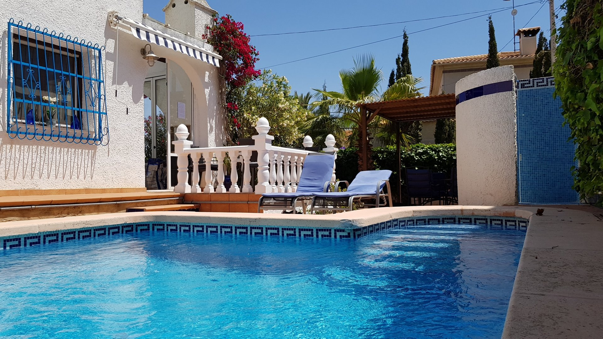 Villa de Tres Suertes with private pool